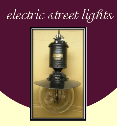 electric street lights